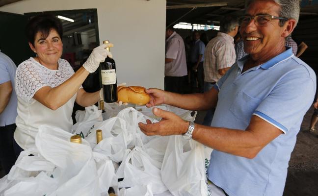 «Este es mi último año al frente de las fiestas de Veriña», dice Amancio López