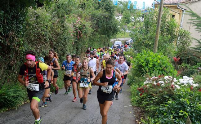 Andrés García y María Suárez se imponen en Trail Minero