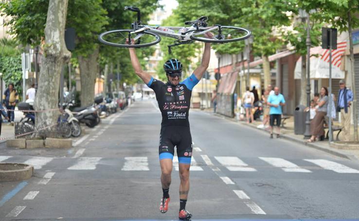 El logro de un objetivo cicloturista