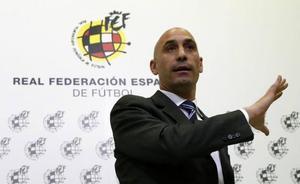 Rubiales: «Luis Enrique ha puesto mucho de su parte, si no hubiese sido imposible»
