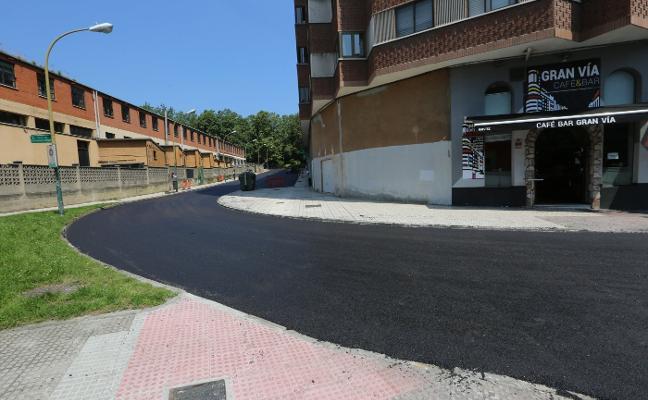 Arrancan los trabajos de asfaltado de la calle Pruneda