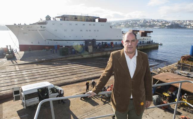 «Los astilleros vamos saliendo del agujero, pero el mercado sigue flojo»