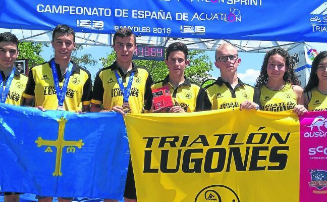 El Cadete del Triatlón Lugones conquista el bronce en el Nacional