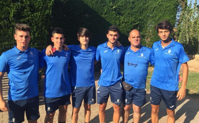 El equipo junior del Club Tenis Avilés disputa el nacional