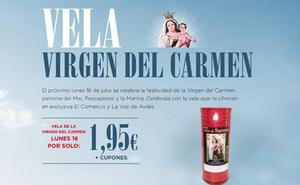 Vela de la Virgen del Carmen