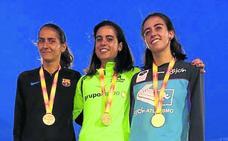 Paula González y Ana Junquera suben al podio en el nacional