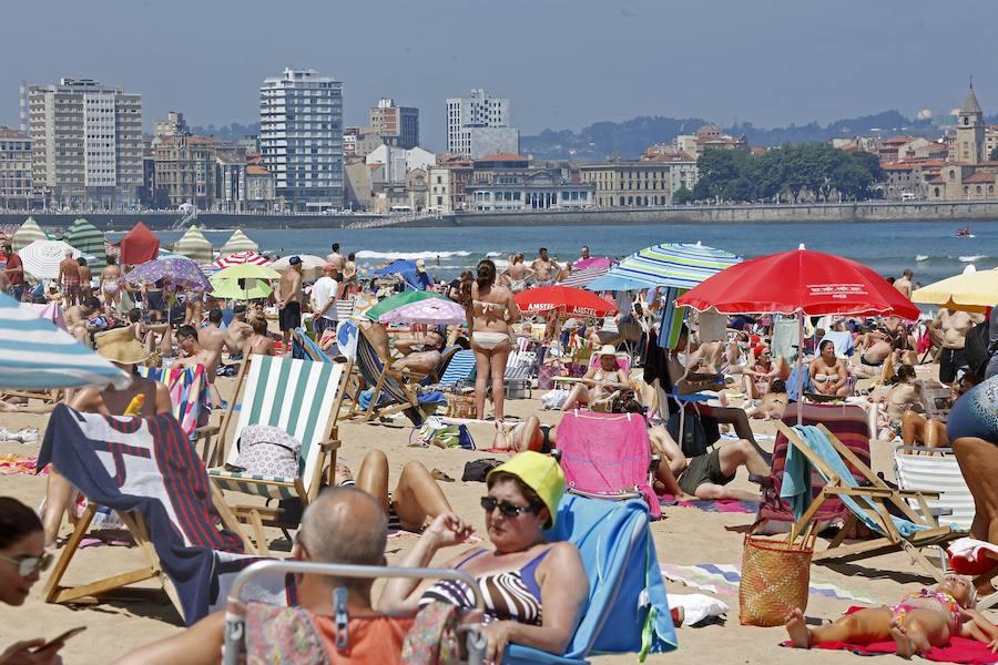 Asturias sigue disfrutando del sol