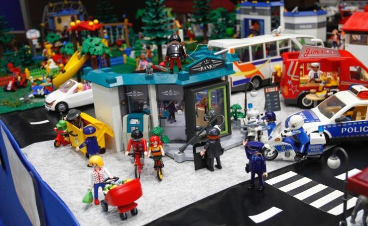 Los Playmobil toman El Atrio