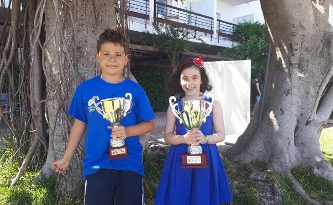 Marién Bagüés y Lucas Antuña brillan en el nacional