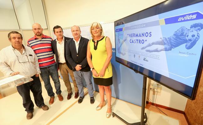 La familia de Quini y Jesús Castro abre hoy la exposición sobre los futbolistas