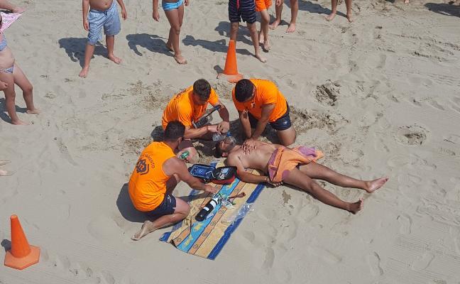 El plan de salvamento dota a 66 playas de 313 profesionales