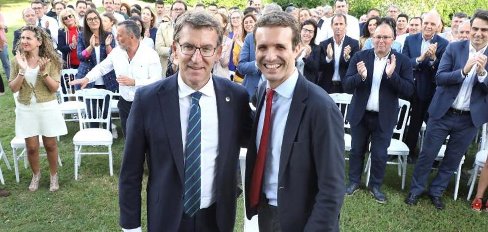 Casado entierra la posibilidad de acordar una lista unitaria con Sáenz de Santamaría
