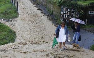 Vuelven las tormentas con inundaciones y argayos en Asturias