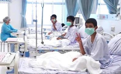 Los niños de Tailandia fueron sedados para evitar el pánico durante el rescate