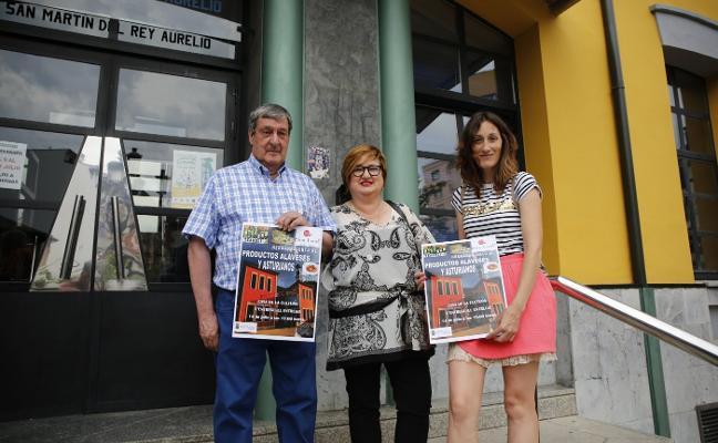 Álava presenta en El Entrego sus productos gastronómicos
