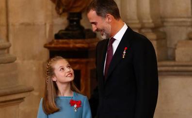Personal de la Casa del Rey está ya en Asturias para preparar la visita de la princesa
