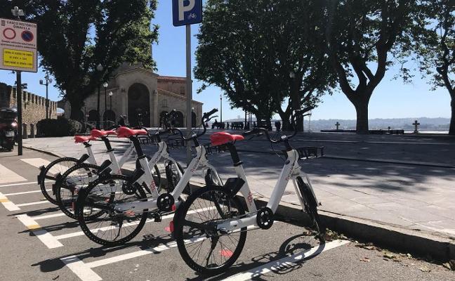 Las nuevas bicicletas de alquiler en la calle superan ya el centenar