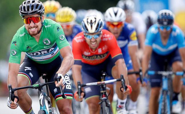 Sagan pone las tablas con Gaviria