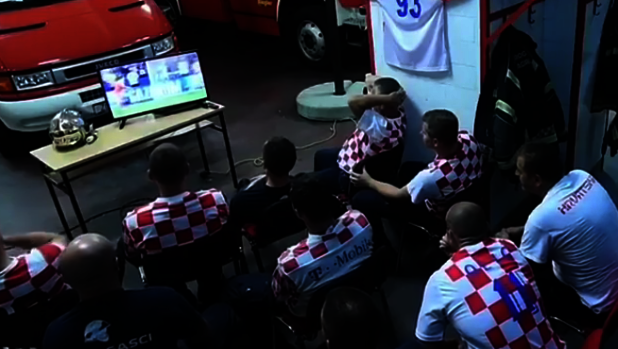 La reacción más viral de los bomberos de Croacia