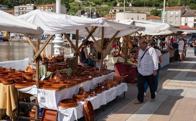 Una veintena de puestos en la décima Feria de Artesanía de Ribadesella