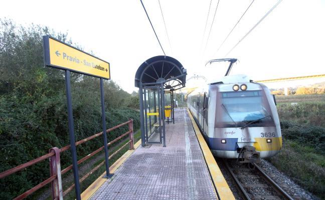 Inquietud por Oviedo-San Esteban, la línea récord en 'estaciones fantasma'