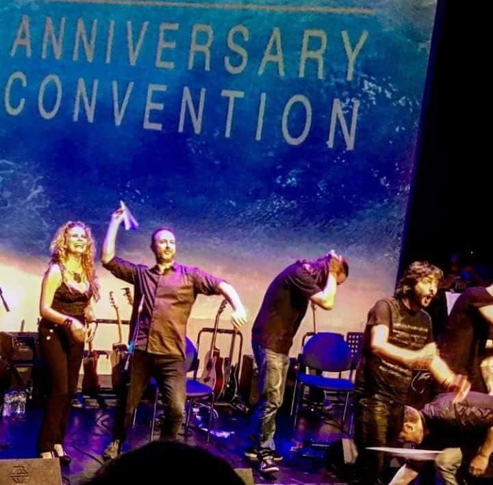 La banda tributo a Mike Olfield actúa «en casa» el sábado 21, en la Casa de la Cultura