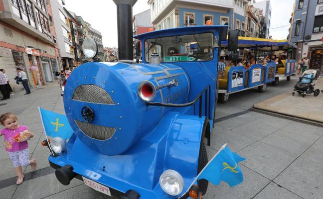 El tren turístico recorrerá el centro urbano hasta el próximo 10 de septiembre