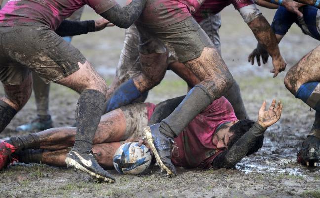 Las obras de drenaje del campo de rugby comenzarán la semana que viene