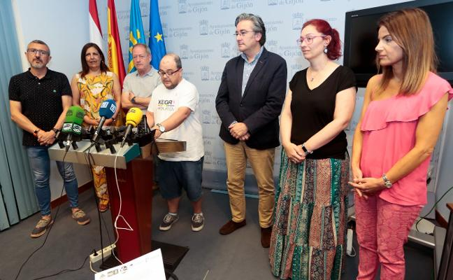 Gijón dedicará «elementos del espacio urbano» a símbolos y referentes gais y transexuales