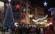 Germán Vizcaíno vuelve a competir por el contrato de la iluminación navideña