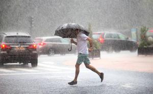 Asturias, en aviso amarillo por lluvias y tormentas