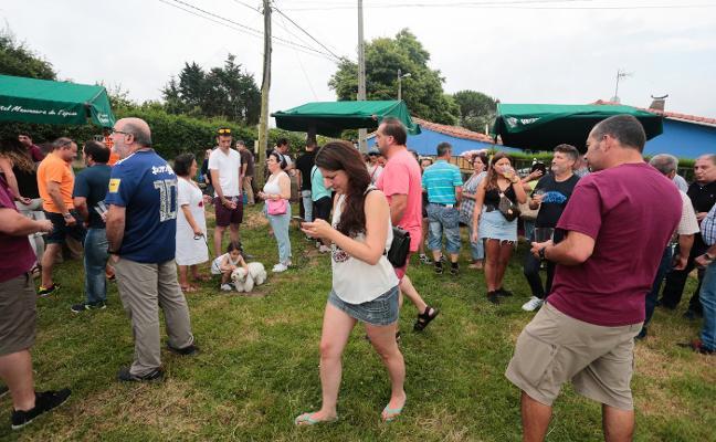 Quintes y Quintueles se reparten los premios de la Fiesta de la Sidra Natural