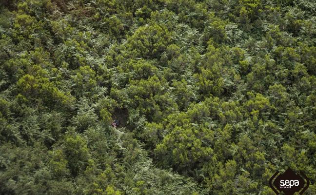 Rescatan a siete personas perdidas y sin agua en Peñamellera Alta