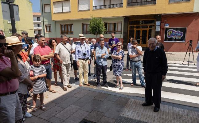 El barrio de Bustillo rinde homenaje a 'Machi'