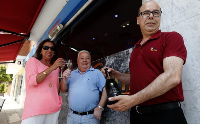 La paloma que repartió siete millones de euros en Oviedo