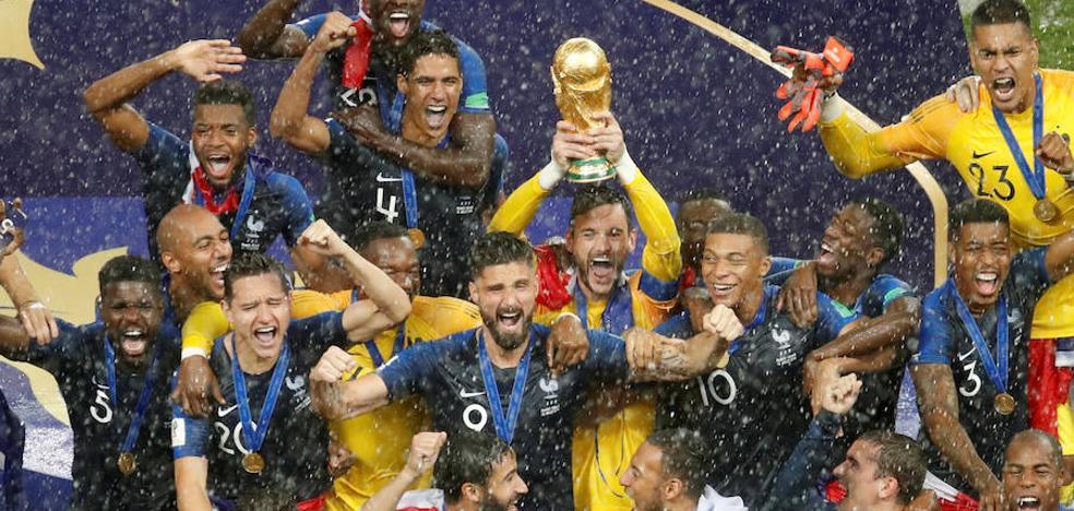 Francia recupera la corona con eficacia