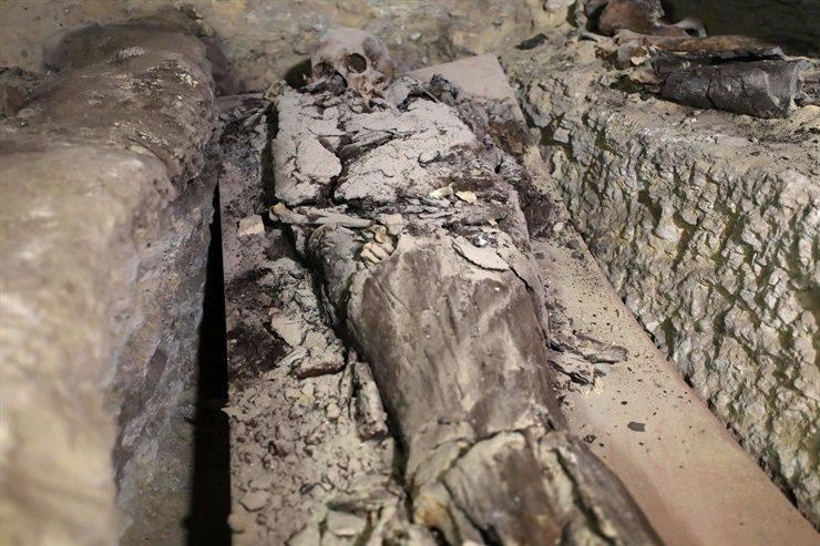 Impresionante hallazgo en Egipto: 35 cuerpos y un taller de momificación abandonado hace más de dos mil años