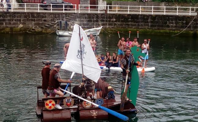 La carrilana vikinga sedujo al puerto de Viavélez