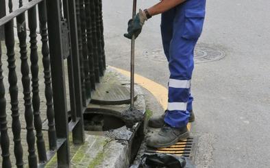 El Ayuntamiento de Siero inicia un plan de choque para evitar las inundaciones en la Pola