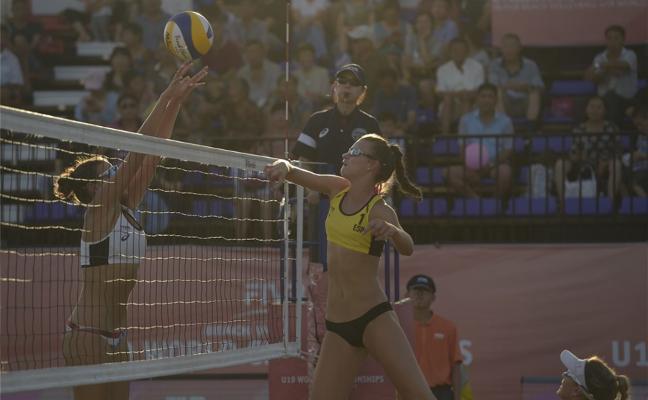 La gijonesa Daniela Álvarez logra el bronce en el Mundial Sub 19