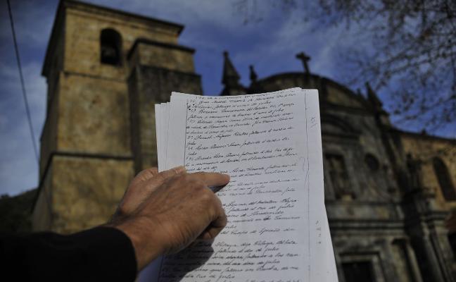El Principado busca a las familias de los nueve asturianos encontrados en una fosa cántabra