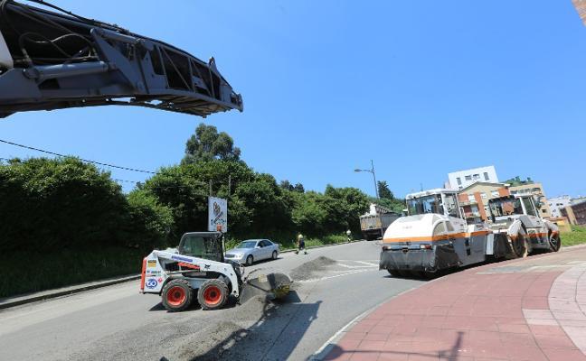 Los asfaltados llegan esta semana al Carbayedo y a La Magdalena