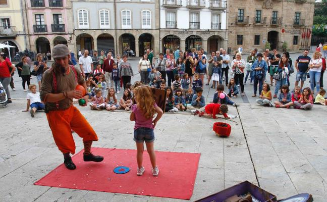Concluye el festival infantil AstuRisas