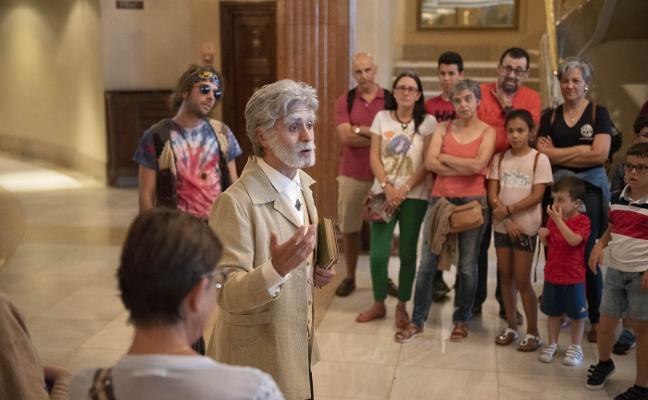 Visita teatral al Campoamor