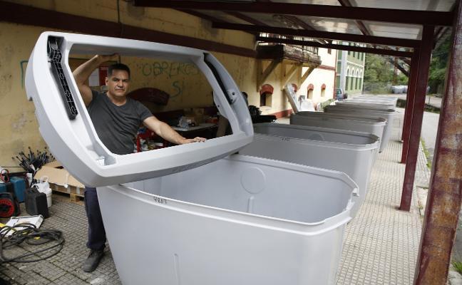 San Martín sancionará hasta con 500 euros el mal uso de los contenedores