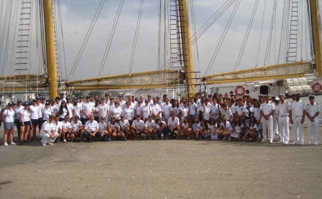 La escuela de la mar amarra en Lisboa