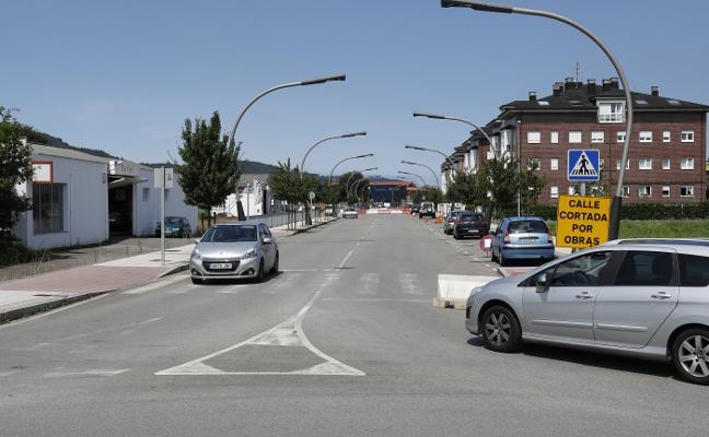 La ronda de la Villa, cortada 19 días al tráfico por obras en el saneamiento
