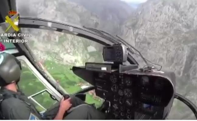 Rescatan a dos montañeras tras desorientarse y hacer noche en Picos