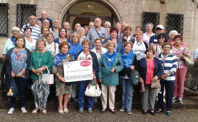 La Providencia cumple con su visita anual a la Santina de Covadonga