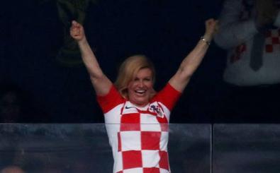Kolinda Grabar, la presidenta del mundial